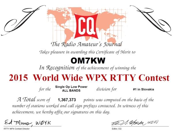 CQWPX RTTY 2015