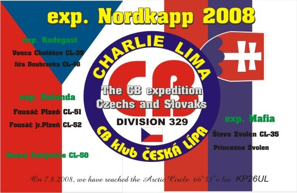 ExpedĂcia Nordkapp 2008