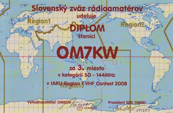 IARU Region 1 VHF Contest