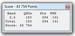 CQ WPX SSB 2016 RESULT